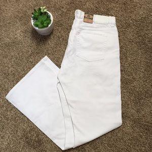 Lauren Ralph Lauren White Jeans